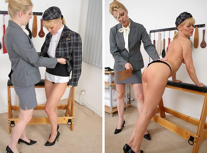 Female Slave Spanking